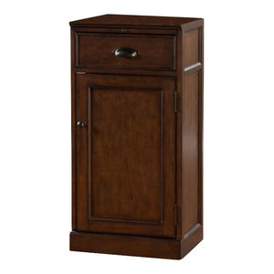 Howard Miller Cognac Wine And Bar Cabinet Traditional