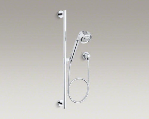 kohler polished chrome handshower kit showerheads and body sprays