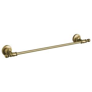 Classic Towel Rail, Antique Brass, Large