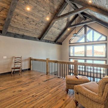 Lake's Edge: Rustic Craftsman Lake Home