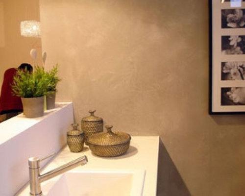 Küchenwand-Design, Küchengestaltung, Küche ohne Fliesenspiegel.