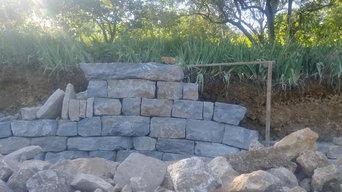 Mur soutènement Aniane