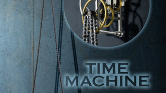 TimeMachine Clock, based on vintage bicycle parts