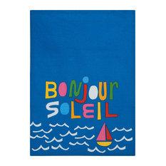 "Bonjour Kitchen Towel, Set of 2, 18""x25"""