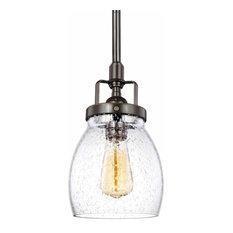 Sea Gull Lighting - Patty Pendant Light, Heirloom Bronze - Pendant Lighting
