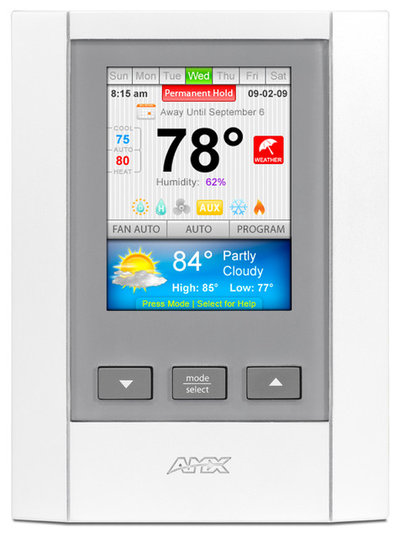 Thermostats by AMX Residential