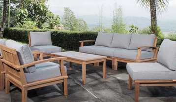 Outdoor Sofas and Sectionals With Free Shipping