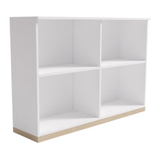 Kelda Scandinavian Shelf, White Colour