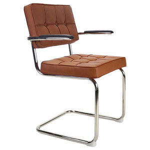 Bauhaus Dining Chair, Cognac