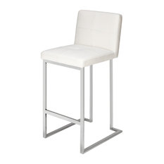 Bona Bar Stool, White