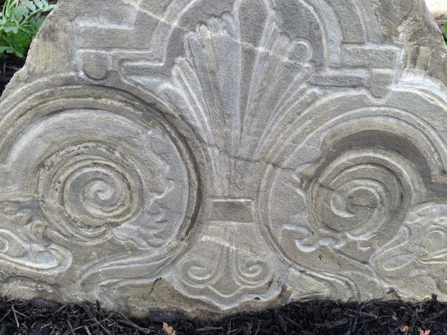 Stone Memorial - Detail of carving