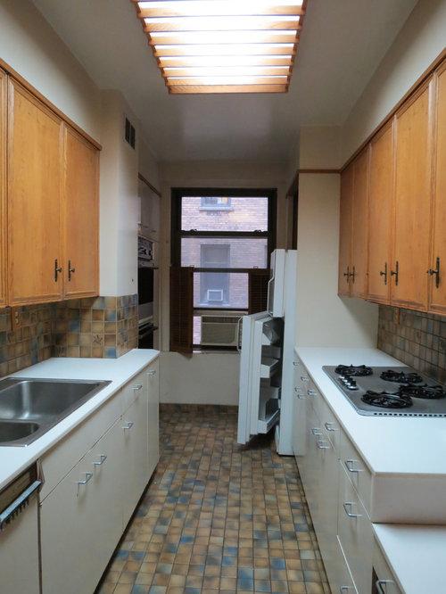 Apt Kitchen Renovations: Kitchen Renovation Of Pre-War Apartment
