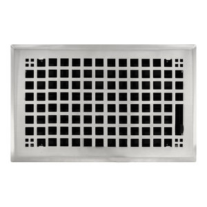 Witten Automatic Vent Company Black Foundation Vent With