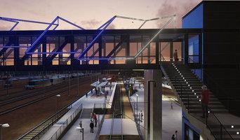ArchViz for TRAIN STATION + LED INSTALLATION, Denver, Colorado