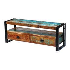 vidaXL Solid Reclaimed Wood TV Cabinet
