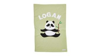 Personalized Panda Baby Blanket