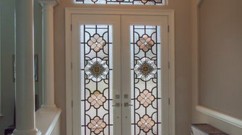Faux Wrought Iron Entrance