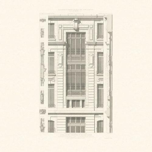 Hotel Hachette, Vintage - Carta da parati