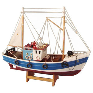 Model Fishing Sailboat