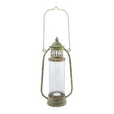 Aged Metal Lantern