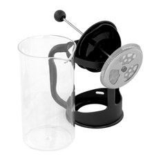 11 Oz French Press Coffee and Tea Maker With Stainless Steel Filter