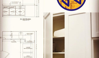 Millwork Drawings for Organizer and Client