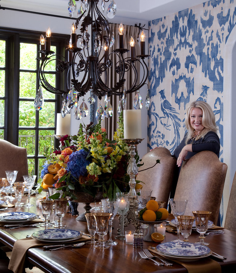 Fine European Floral Design for Vicki Gunvalson of the RHOC