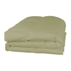Home Collection Baffle Box Down Alternative Comforter, Twin/Twin XL, Sage