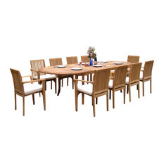 50 Most Popular Teak Outdoor Dining Sets For 2019 Houzz