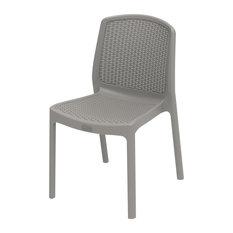 Duramax Rattan Patio Chair, Gray