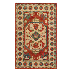"Tangier Hand-Hooked Rug, Ivory, 7'6""x9'6"""