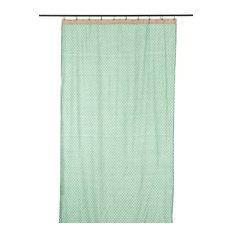 Polka Dot Curtain, Mint