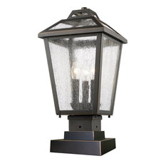 Bayland 3 Light Post Light or Accessories in Oil Rubbed Bronze