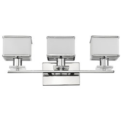 Ideal Contemporary Bathroom Vanity Lighting by CHLOE Lighting Inc