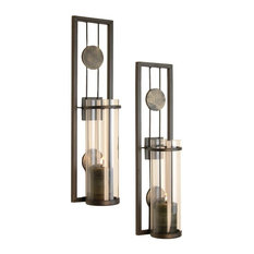 Shop Wrought Iron Wall Candle Holder on Houzz