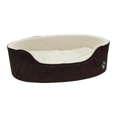 Petface - Sam Luxury Oval Dog Bed, Extra Large - Dog Beds