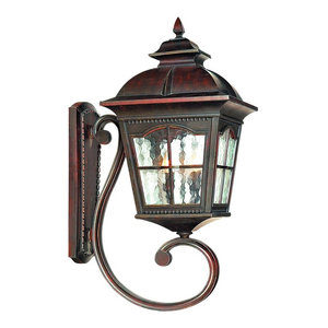 Pompeii Large Traditional Aluminium Outdoor Wall Light