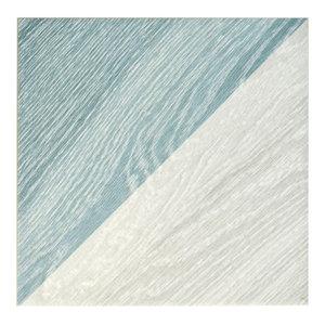 """6.5""""x6.5"""" Buon Melange Porcelain Floor and Wall Tile, Blue, Set of 20"""