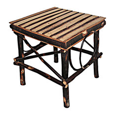Bentwood End Table All Hickory