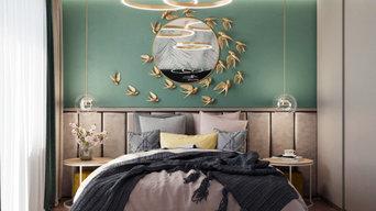 Дизайн интерьера для квартиры в Дмитровке