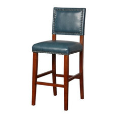Blake Pacific Blue Bar Stool