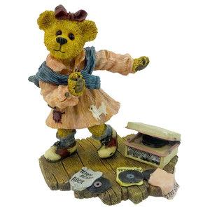 Boyds Bears Resin Franklin T Rosenbearg Resin Love Bearstone Rose