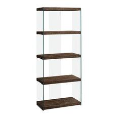 "60"" Bookcase, Brown"