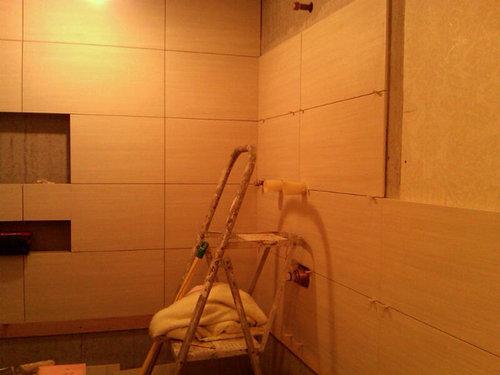 Bathroom tile dilemma - Advice needed asap!