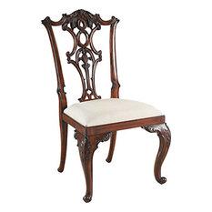 Carved Regency Chippendaledining Chair