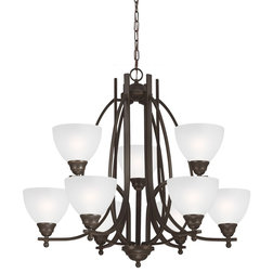 Cute Traditional Chandeliers by Sea Gull Lighting
