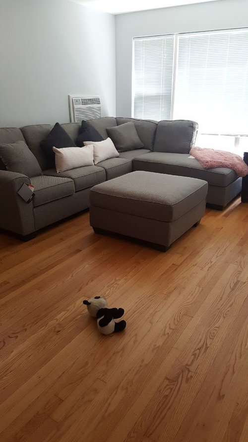 Tremendous My New Sectional Is Way Too Big And The Furniture Wont Andrewgaddart Wooden Chair Designs For Living Room Andrewgaddartcom