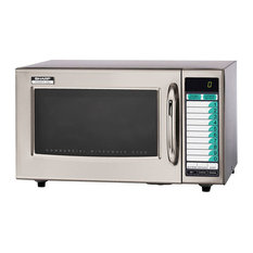 Sharp Medium Duty Commercial Microwave Oven, 3 Stage Cooking, 1000 W