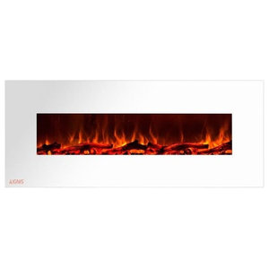 Peachy Electric Fireplace Mount Color Led Flame Remote 50 In By Download Free Architecture Designs Intelgarnamadebymaigaardcom