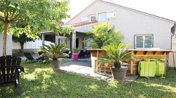 Maison Oullins rénovée avec aménagement des combles